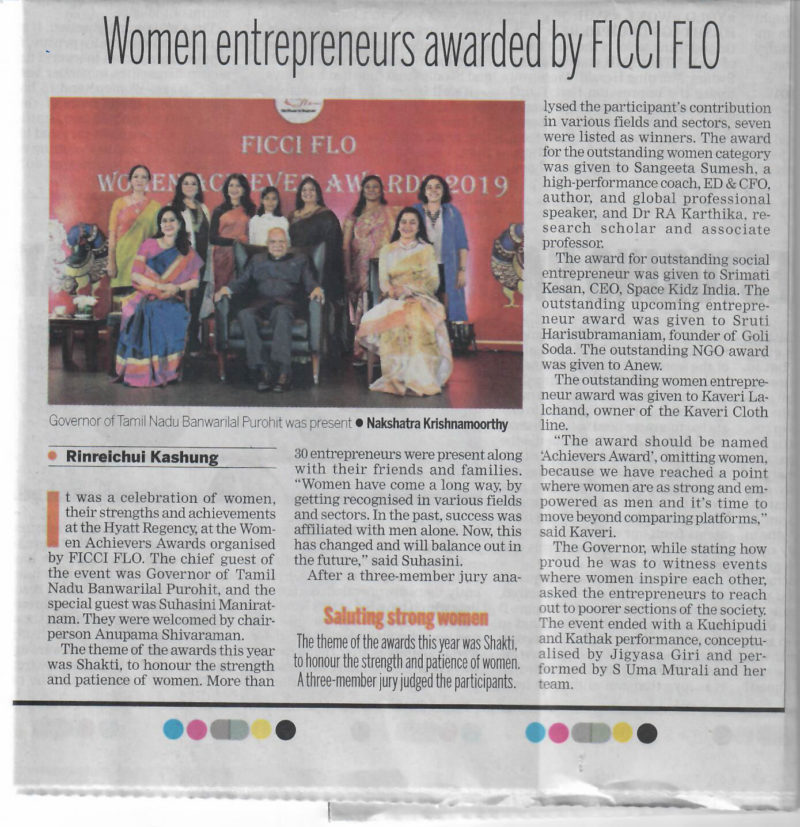 Women Entrepreneurs Award