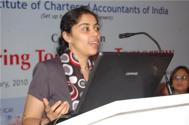 Speaker at the Institute of Chartered Accountants of India Corporate Forum
