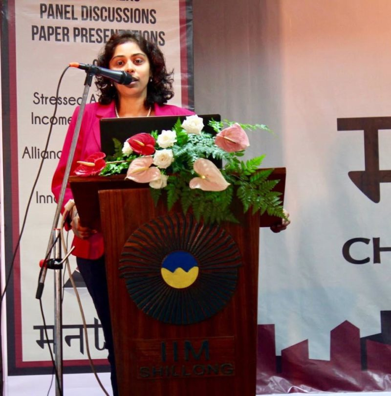 Speaker at the Management Conclave of IIM Shillong