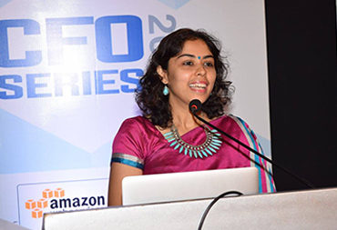 Speaker at the CFO series of Amazon India