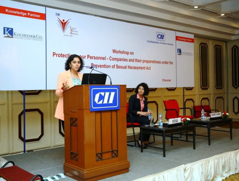 Speaker at CII event