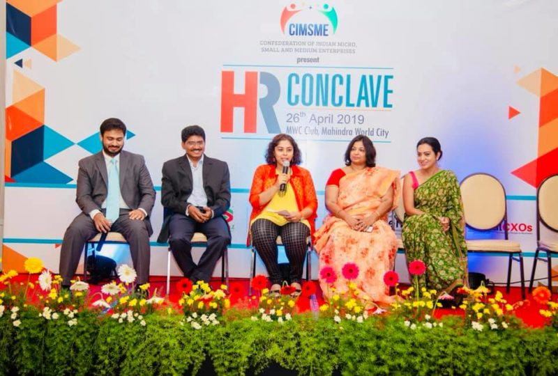 Moderator & Panelist at HR Conclave