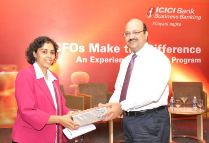 CFO Roundtable of ICICI Bank – CFO's make the difference