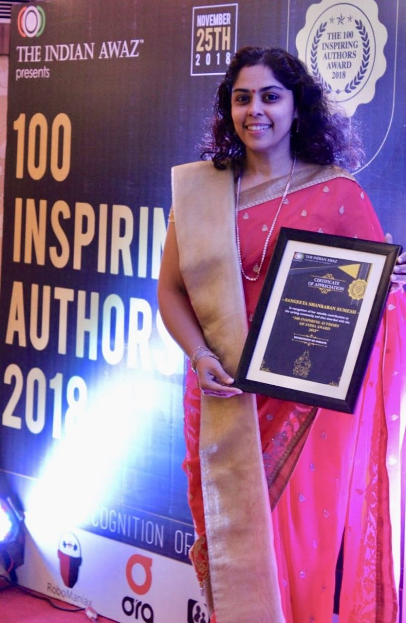 Inspiring author award